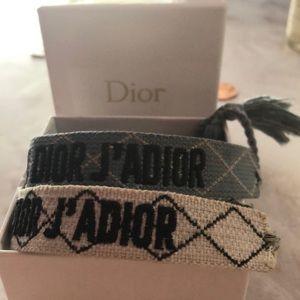 2 J'Adior friendship bracelets